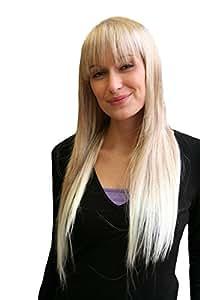 Perücke ENGEL & VAMP blond lang glatt PONY (9293-27T613)