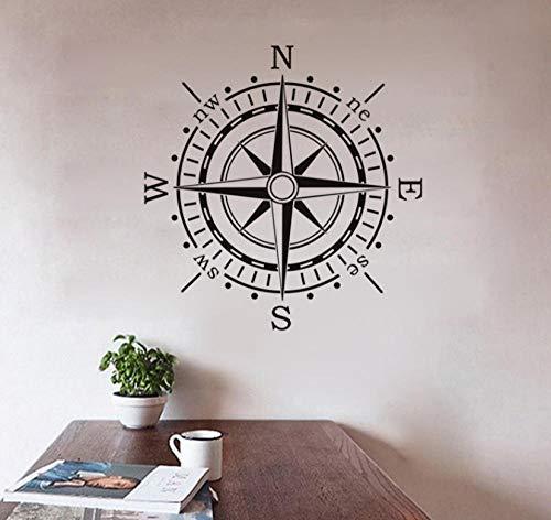 Halloween Dekor Zu Hause Waren - Nautical Compass Wandaufkleber Wohnkultur Waren Für