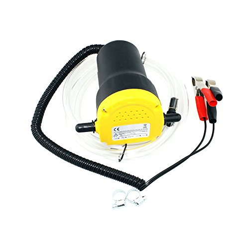 Festnight Pompa olio motore auto 12 V Elettrico Auto olio Estrattore di olio liquido Scavenger Scambio di carburante Pompa di aspirazione di trasferimento