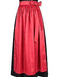 Damen Stützle Dirndl-Schürze rot 'Roswitha', rot,