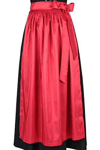 Stützle Damen Dirndl-Schürze rot 'Roswitha', rot,