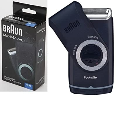 Braun M30 Mobileshave Electric Shaver Men's Travel Portable Mobile by Braun