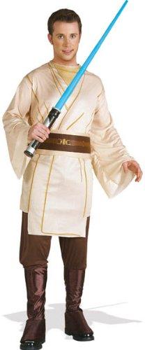 Kostüm Jedi Stiefel (Star Wars™ Jedi kostüm für männer - Braun,hellbraun, Herren:)