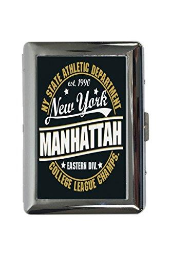 cache étuis à cigarettes Retro New York imprimées