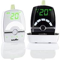Babymoov Premium Care Babyphone Audio avec Talkie Walkie Temperature VOX et Veilleuse , Portée 1400 m