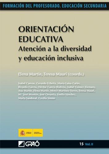 Orientación Educativa. Atención a la diversidad y educación inclusiva: 152 (Formacion Profesorado-E.Secun.)