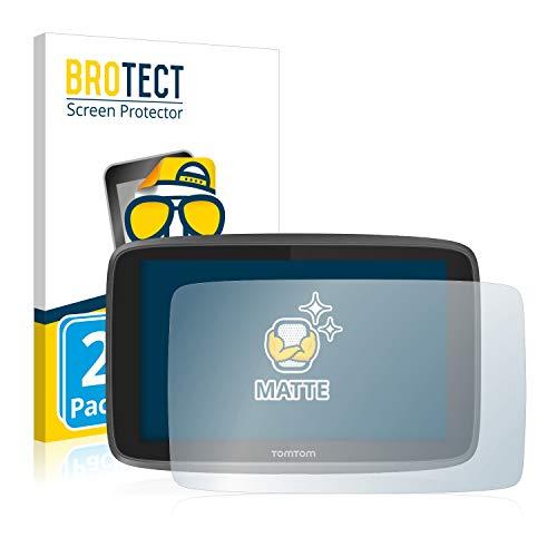 brotect Protection Ecran Anti-Reflet Compatible avec Tomtom Go 6200 (2 Pièces) - Film Protection Ecran Mat