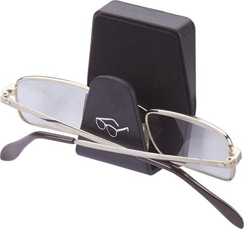 Preisvergleich Produktbild hr-imotion kompakte, Gepolsterte Brillenablage [Made in Germany | Selbstklebend montierbar] - 10510301