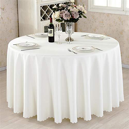 Beige Runde Hotel Round Table Cloth Restaurant Hochzeit Tischdecke Konferenztisch Abdeckung...