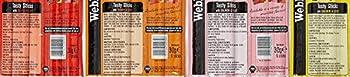 Webbox Chats Délice Gourmet Bâtonnets à Mâcher Friandise Variété Pack 4 X 6 (24 Bâtonnets)