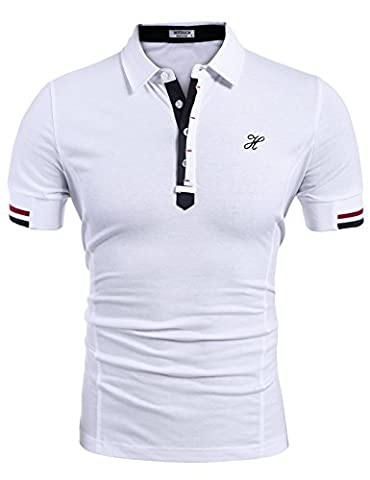 HOTOUCH Men's Fashion Sport Running Performance Short Shirts Tees Tops