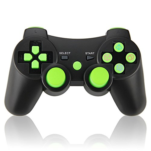 Price comparison product image Wireless Controller Double Vibration Sixaxis Gamepad Joystick for Sony Playstation 3 PS3