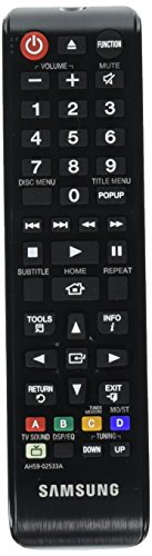 SAMSUNG OEM Original Part AH59-02533A Home Theater System Blu-Ray Remote Control