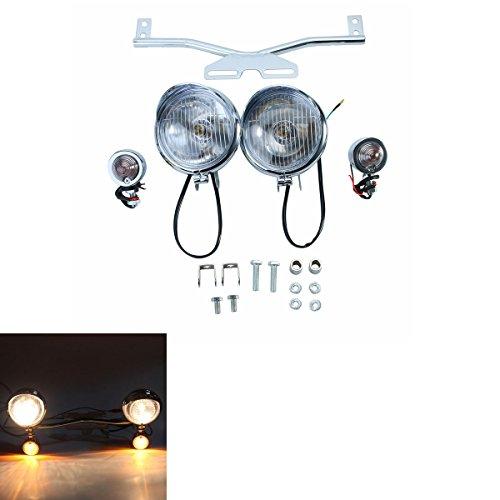 nker Lichtleiste für Yamaha V-Star XVS 650 1100 Classic Silverado Zubehör ()