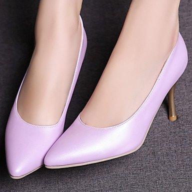 Zormey Women'S Shoes Stiletto Heel/Schuhe Heels B¨¹ro & Amp Karriere / Party & Amp Abends/Kleid Rosa/Lila/Wei?/Hellgr¨¹n US10.5 / EU42 / UK8.5 / CN43