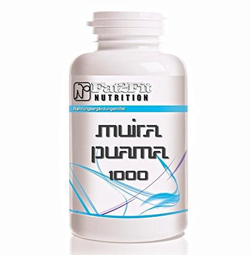 Muira Puama 1000mg - 250 Tabletten - Die preiswerte Alternative