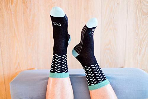 """Preisvergleich Produktbild UO""""Sono Super Cool Neri Socken,  Baumwolle,  Schwarz"""