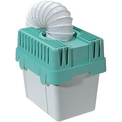 Wenko 3743010500 Deshumidificateur, Plastique, Blanc/Vert, Ø 10,5 x 150 cm