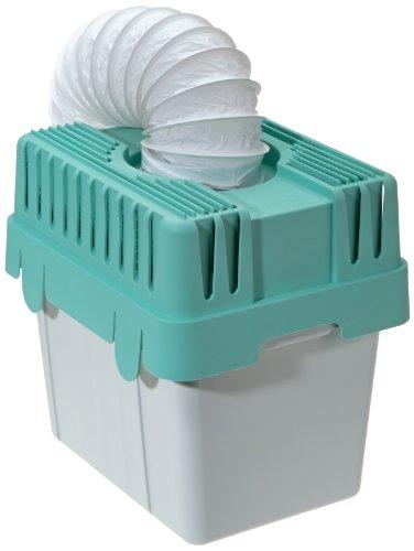 WENKO 3743010500 Wäschetrocknerkondensator für Abluftwäschetrockner, Kunststoff - Polypropylen, 28.5 x 29 x 23.5 cm, Grau -