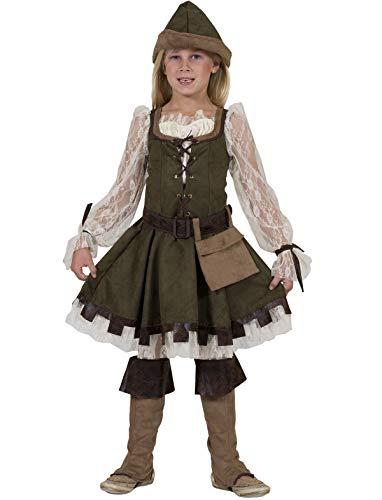 Robin Hood Girl Kostüm Mädchen Gr. -