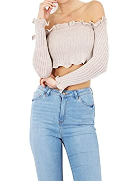 MIA - Camiseta de manga larga - para mujer