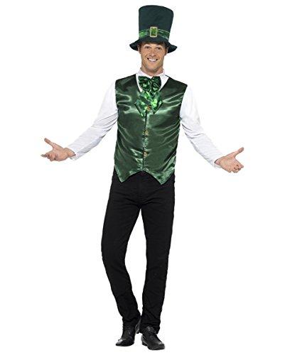 St. Patrick's Day Kostüm mit Hut für Paraden & Umzüge (Iren Kostüme)