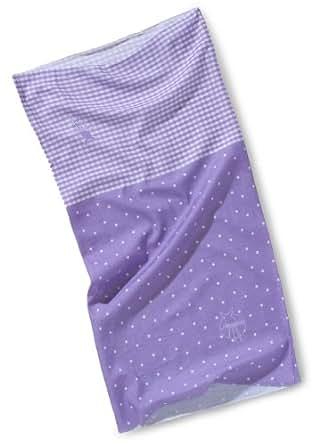 Lässig Twister Multifunktionstuch Baby, Dots-vichy violet