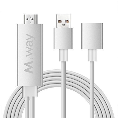 mway-aluminium-mhl-micro-usb-to-hdmi-cable-plug-and-play-6ft-3-in-1-hd-1080p-miracast-airplay-mirror