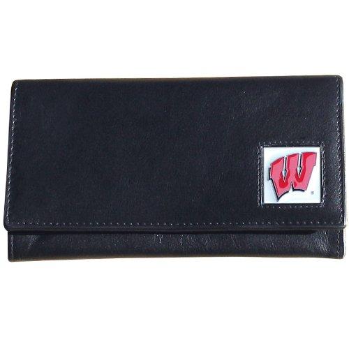Siskiyou NCAA Damen Geldbörse Leder, Damen, Wisconsin Badgers