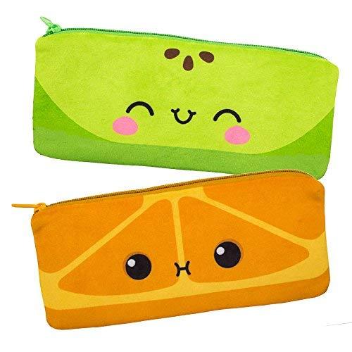 Scentco Cutie Fruities Duftend Mäppchen 2er-Pack - Äpfel und Orangen