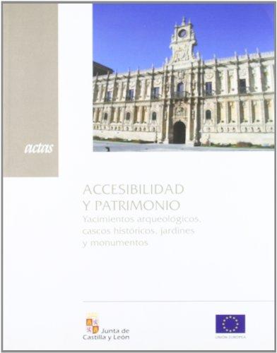 Accesibilidad y patrimonio por Aa.Vv.