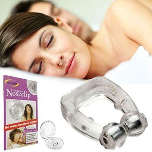 Schnarchen Silikon Magnetische Anti Nasenclip Unisex Stop Anti Schlaf Nasenclip Werkzeuge (größe : 2pcs)
