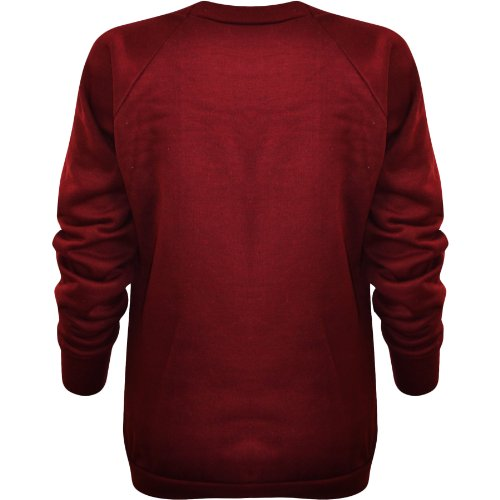Flirty Wardrobe Sweat-shirt Imprimé GEEK Femme Rouge - Wine
