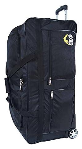Outdoor Gear Suitcase, 86 cm, 125 Liters, Black