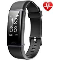 Lintelek Fitness Trackers, Smart Watch Fitness Watch Activity Tracker, Pedometer Smart Bracelet with 24-hour Heart Rate Monitor, 14 Sports Modes for Kids, Men and Women