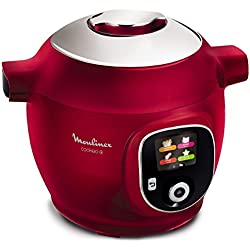 Moulinex - ce851500 - Multicuiseur intelligent 6l 1600w rouge cookeo +