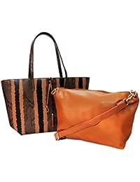 Kion Formal Women Brown handbag