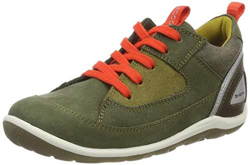 ECCO Baby Jungen Biom Mini Sneaker, Grün (Grape Leaf 1076), 24 EU