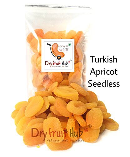 Dry Fruit Hub dry fruits apricot seedless 500gms turkey dried...