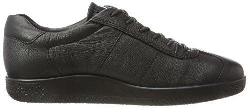 Ecco Herren Soft 1 Sneaker Schwarz (Black)