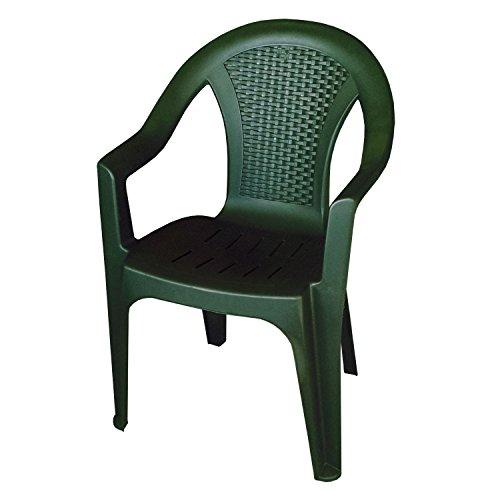 Einfaches Set 4+1 Kunststoff in Grün - 2