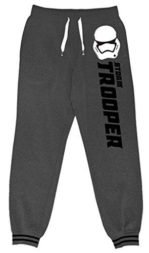Star Wars Storm Trooper Adult Men's Charcoal Lounge Pants