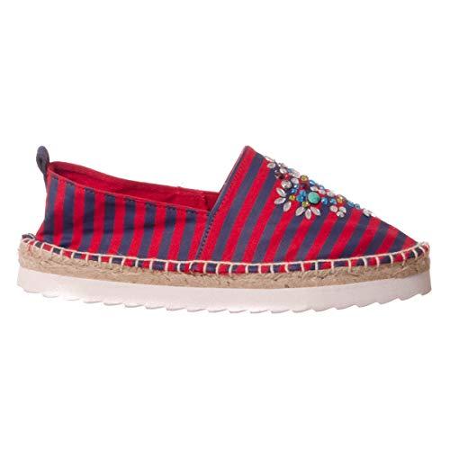 Colors of california HC.CHEVA02-S16 Femmes, Toile, Sneaker Slip on