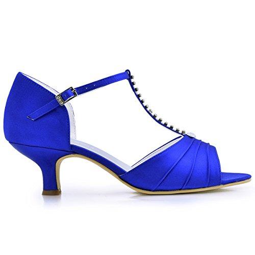 Calzature & Accessori ballo eleganti blu per donna