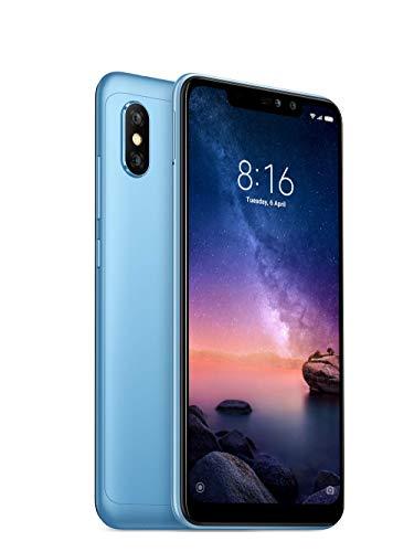 "Xiaomi Redmi Note 6 Pro - Smartphone de 6.26"" (4G, Octa-Core Snapdragon 636, RAM de 4 GB, Memoria de 64 GB, cámara Dual de 12+5 MP, Android) Color Azul"