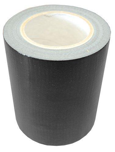 ei-Packaging 150mm x 50m extrabreiteses schwarzes Gafferband Wasserfest Menge 1 Rolle