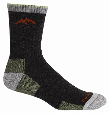 Darn Tough Merino Wool Micro Crew Sock Cushion,Lime,Medium