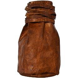 """Monedero para Mujer de Cuero Gusti Leder """"Arlo"""" Cartera Bolso de Tabaco de Liar Llavero Suelto Cuero de Cabra A76b"""