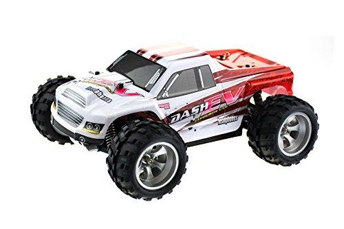 efaso WL Toys A979-B - schneller RC Monstertruck 70 km/h schnell, wendig, voll digital proportional - 2.4 GHz RC Auto mit Allradantrieb - Maßstab 1:18, hoher Fun Faktor - 2