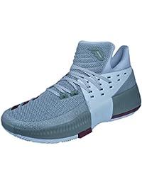 premium selection ef150 3c867 Adidas Dame 3 West Campus Scarpa da Basket da Uomo, Beige, ...